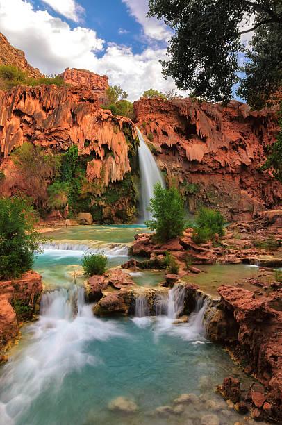 Havasu Falls, Grand Canyon, Arizona stock photo