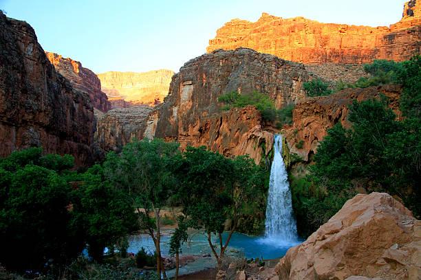 Havasu Falls Grand Canyon stock photo