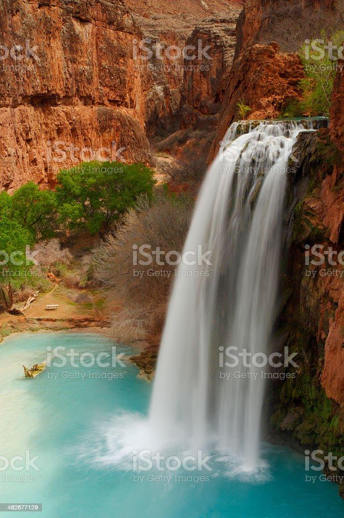 Havasu Falls royalty-free stock photo