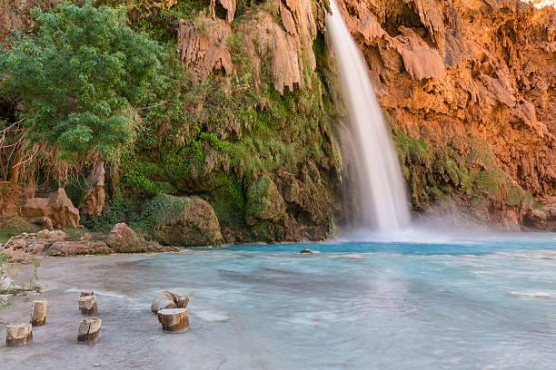 Havasu Falls Stumps stock photo