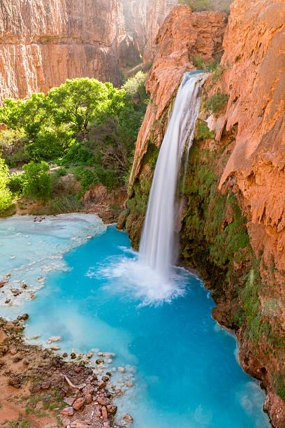 Havasu Falls Tranquility stock photo