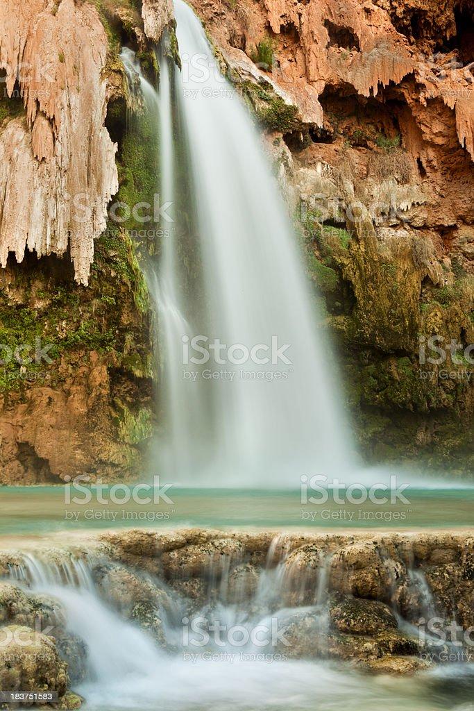 Havasu Falls Waterfall royalty-free stock photo