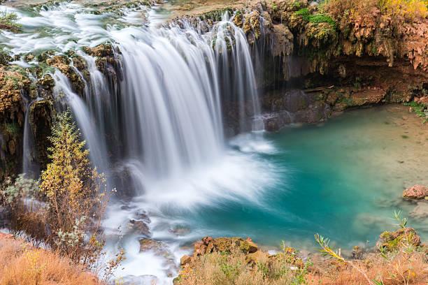 Havasupai Falls, Arizona stock photo