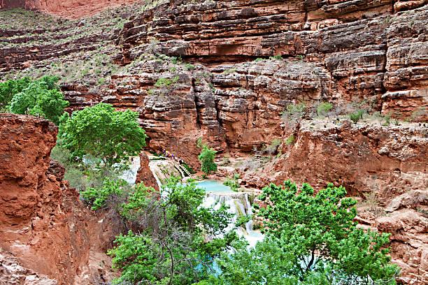 Havasupai Waterfalls stock photo