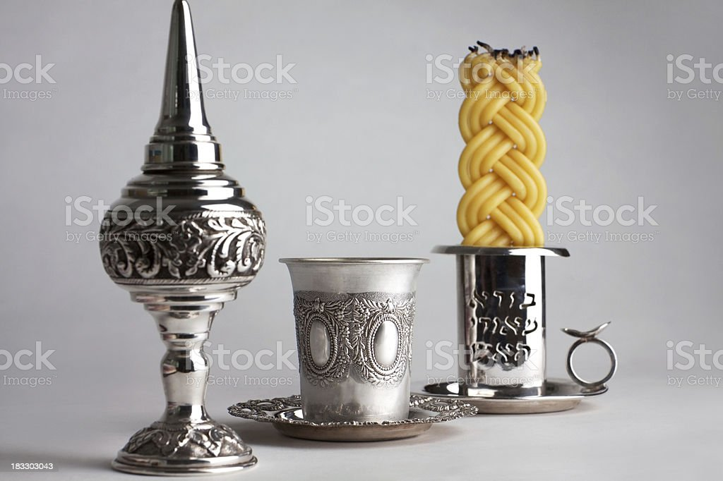 Havdalah stock photo