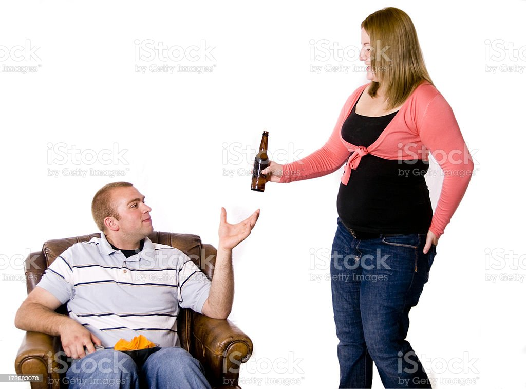 Have a Beer royalty-free stock photo
