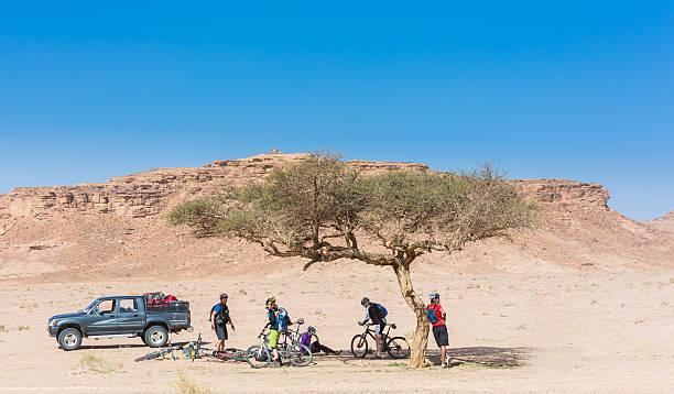 Eine Bremse in der Wüste, Jordanien – Foto