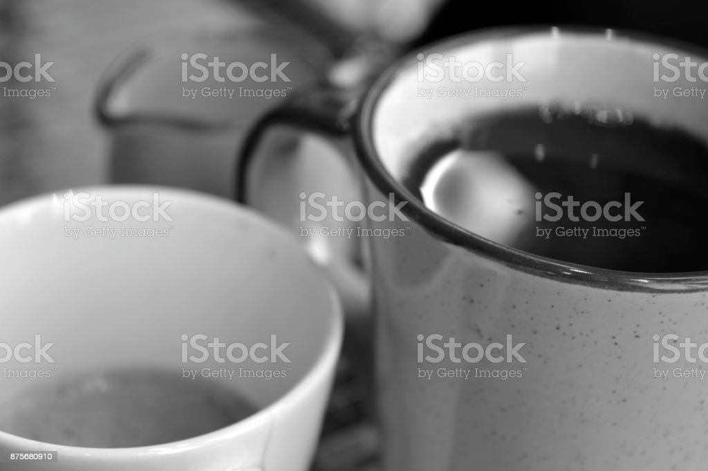 Have a coffee stock photo