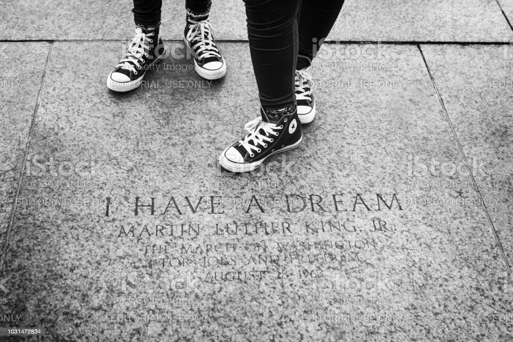 I have a Dream in Washington DC stock photo