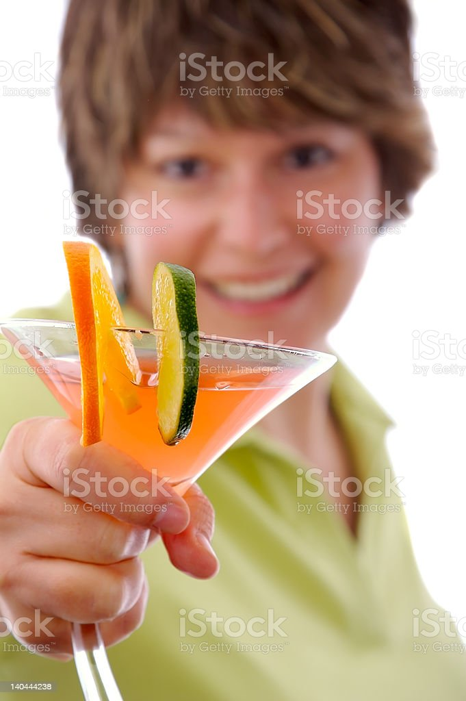 Have a drink royalty-free stock photo
