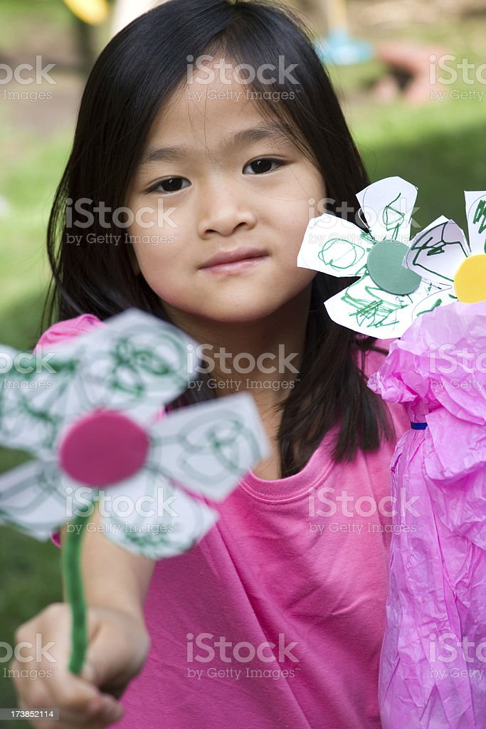 Have a flower... royalty-free stock photo
