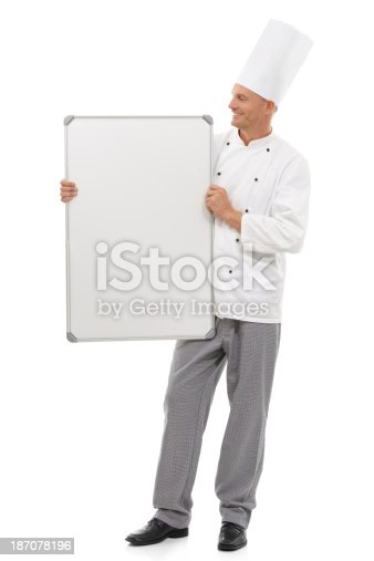 istock Have a look at our menu! 187078196