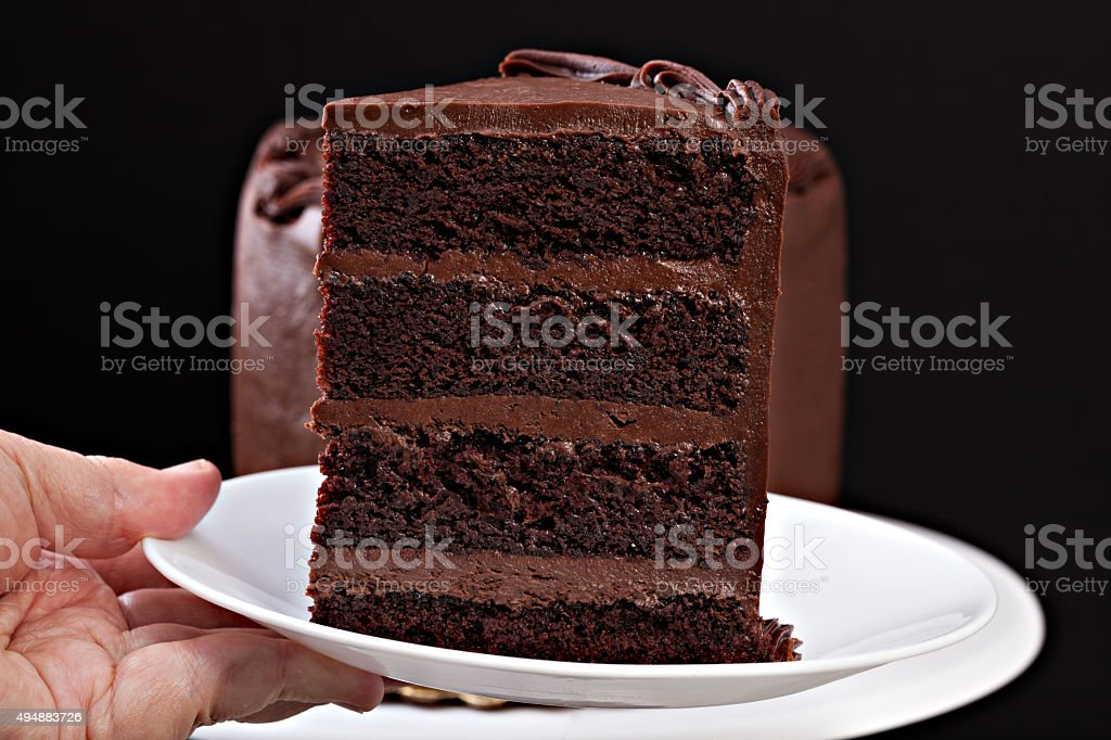 Have A Piece Of Cake stock photo