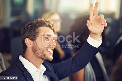 istock I have a question on that 1014810348
