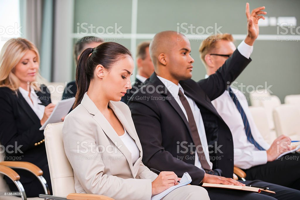I have a question! stock photo