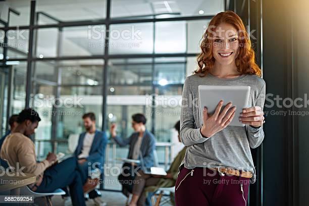 Ich Habe Zugriff Auf Alle Meine Businesstools Online Stockfoto und mehr Bilder von Büro