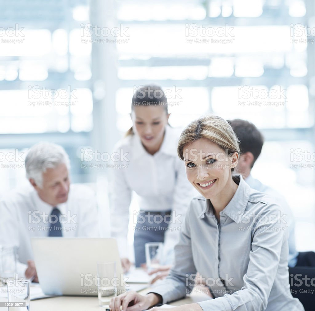 I have amazing coworkers! royalty-free stock photo