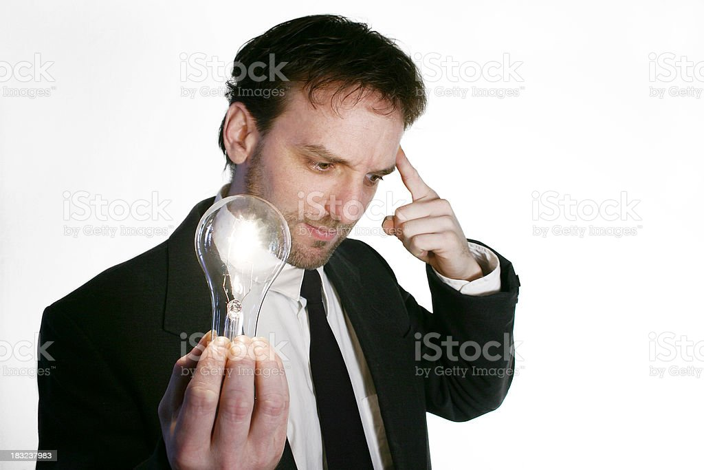 I have an idea! royalty-free stock photo