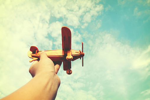 istock Have dreams wants to be a pilot 492365096