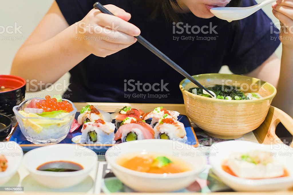 have japanese food royalty-free stock photo