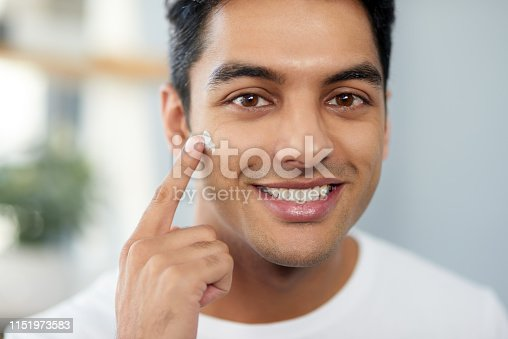 istock I have no skin problems, thanks to this product 1151973583