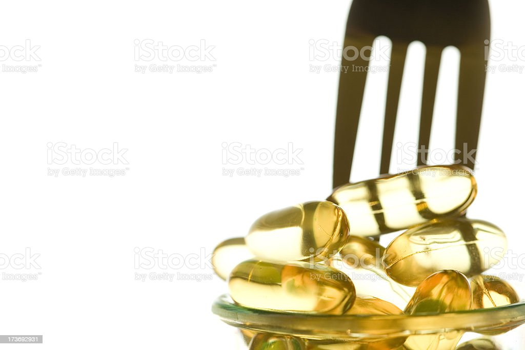Have some fish oil royalty-free stock photo