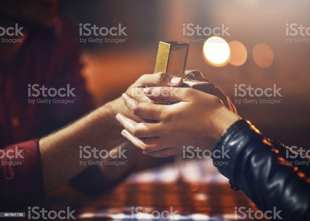 I have something for you... stock photo