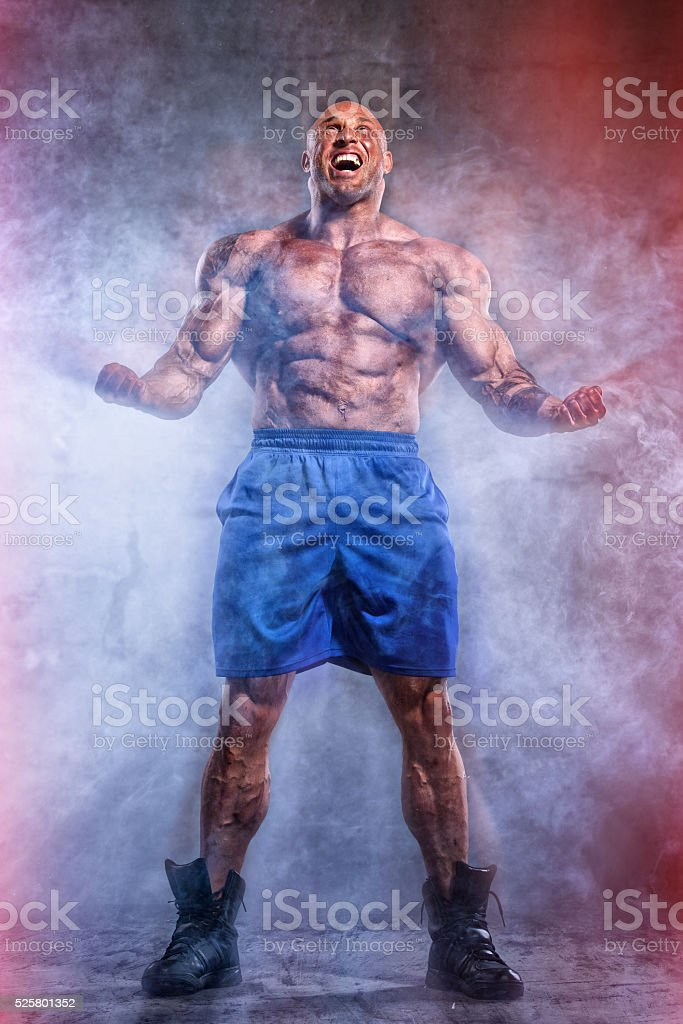 I have the Power! stock photo