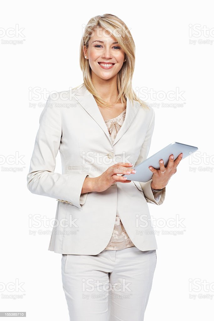 I have the tech to help me succeed stock photo