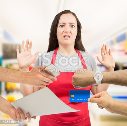 istock I have too much work 493445448
