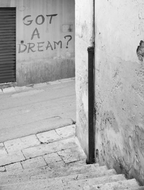 Have you got a dream? stock photo