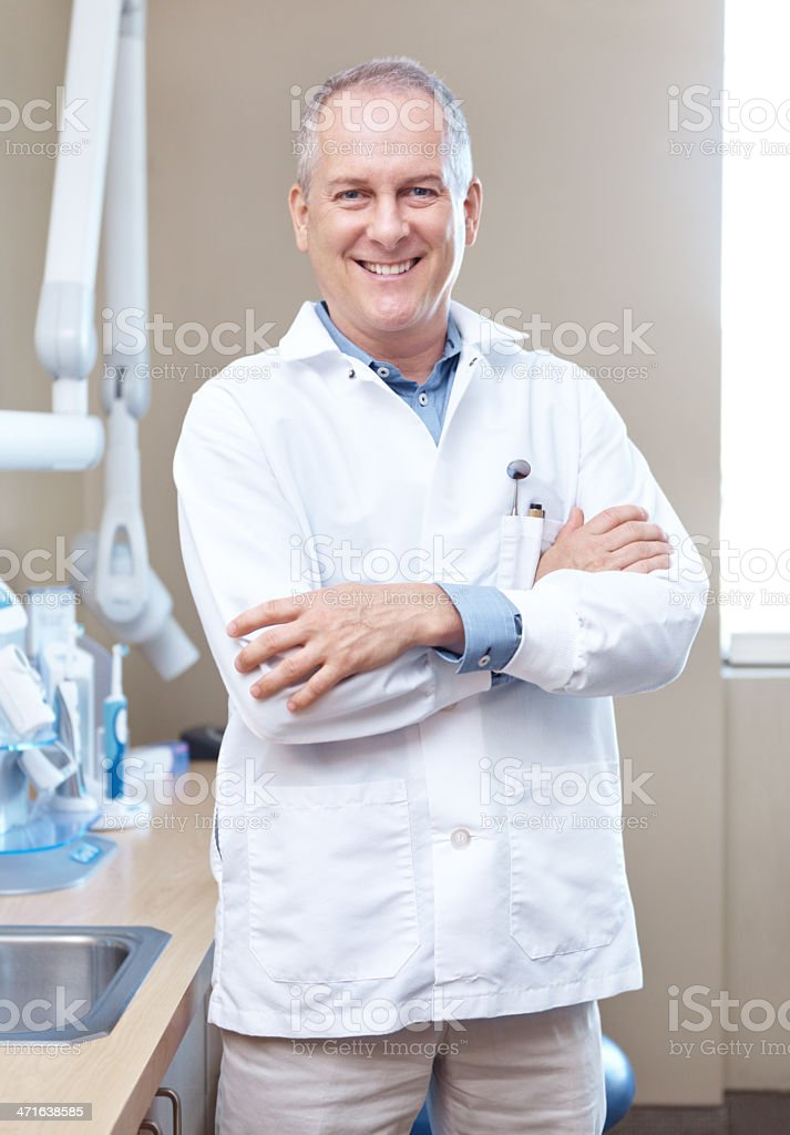 Ha visto el dentista lately? - foto de stock