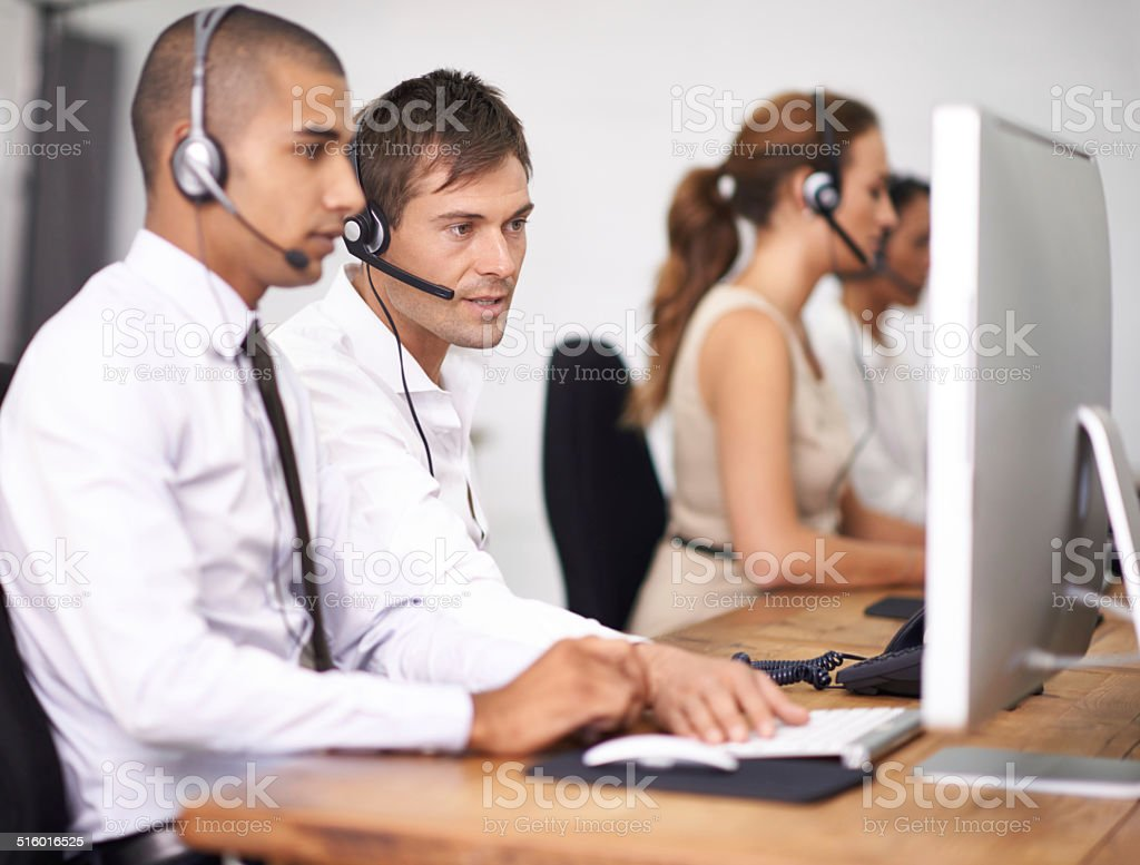 Have you turned it off and back on again? stock photo