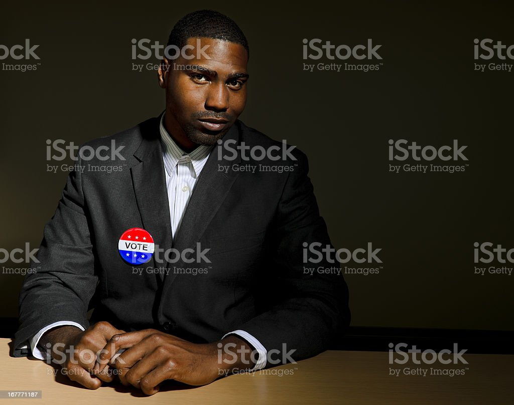 Have You Voted? stock photo
