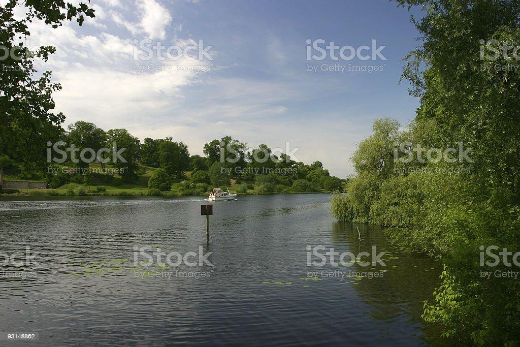 Havel River, Berlin stock photo