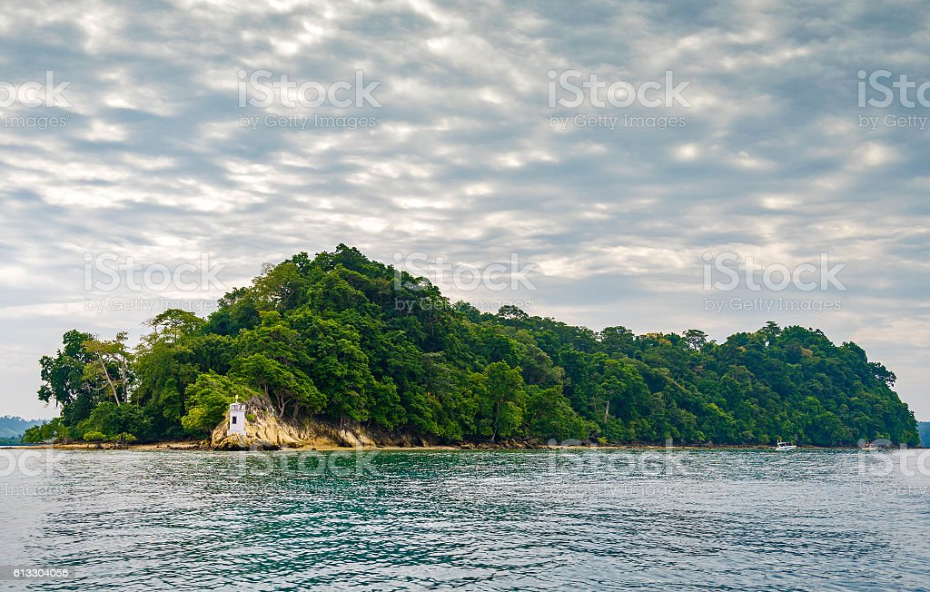 Havelock Island stock photo