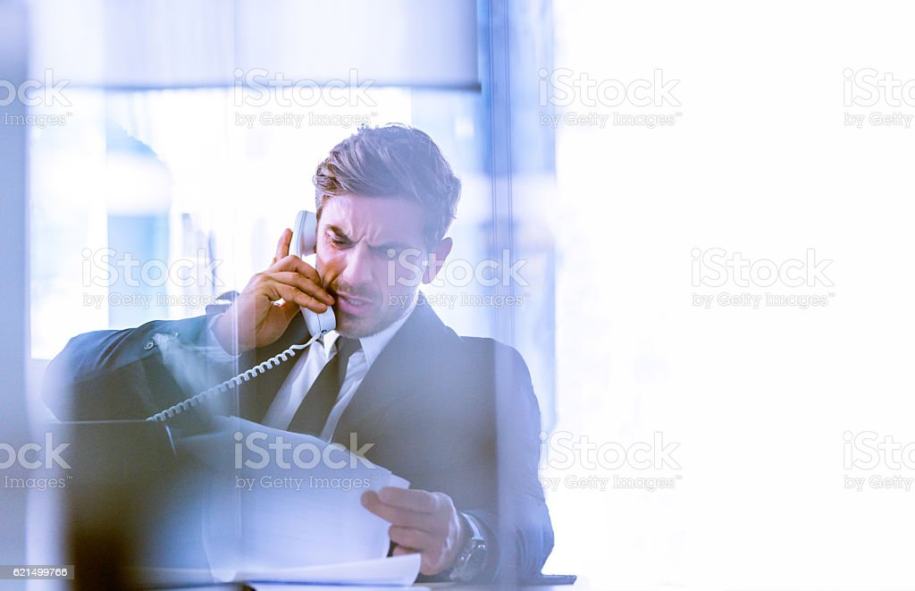 Haven't I requested for right paperwork? foto stock royalty-free