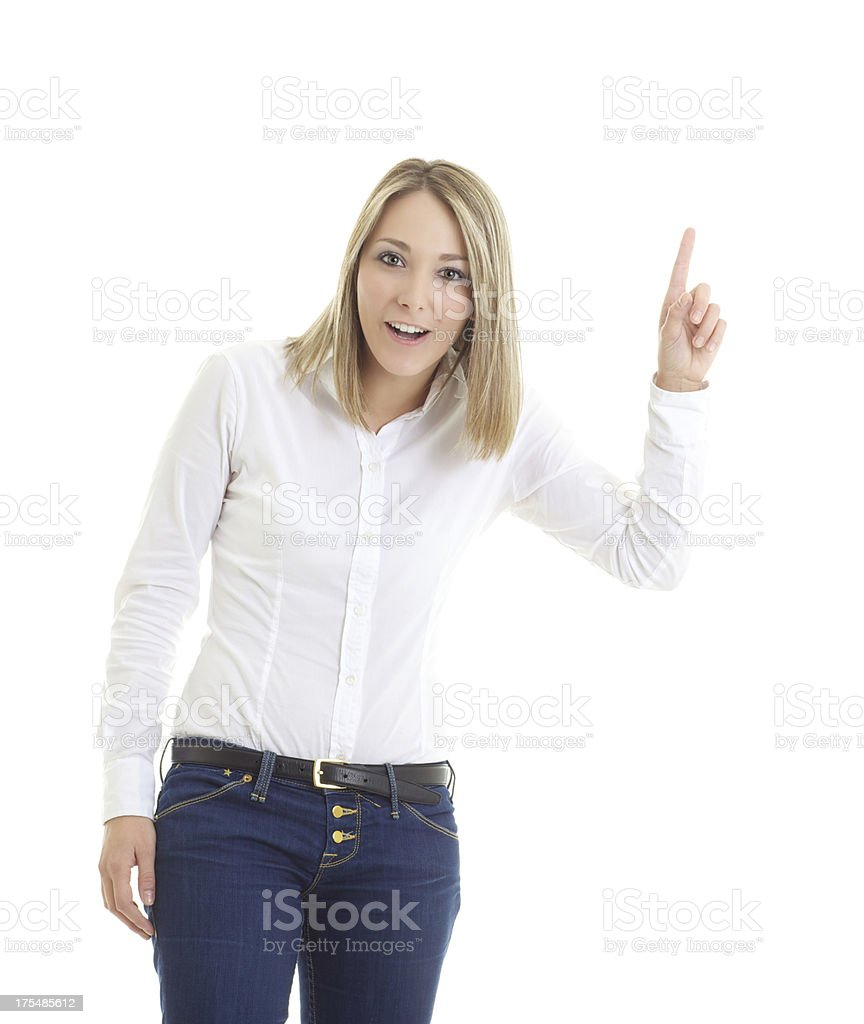 Haven't you heard that? stock photo