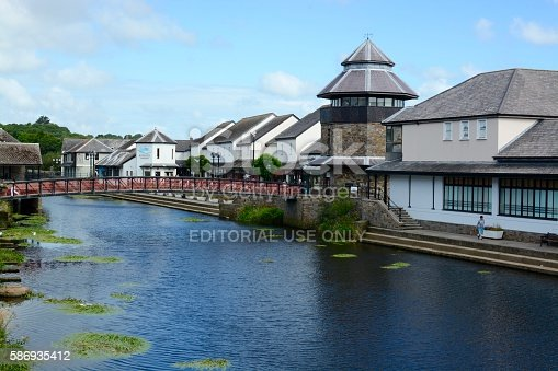 istock Haverfordwest Town 586935412