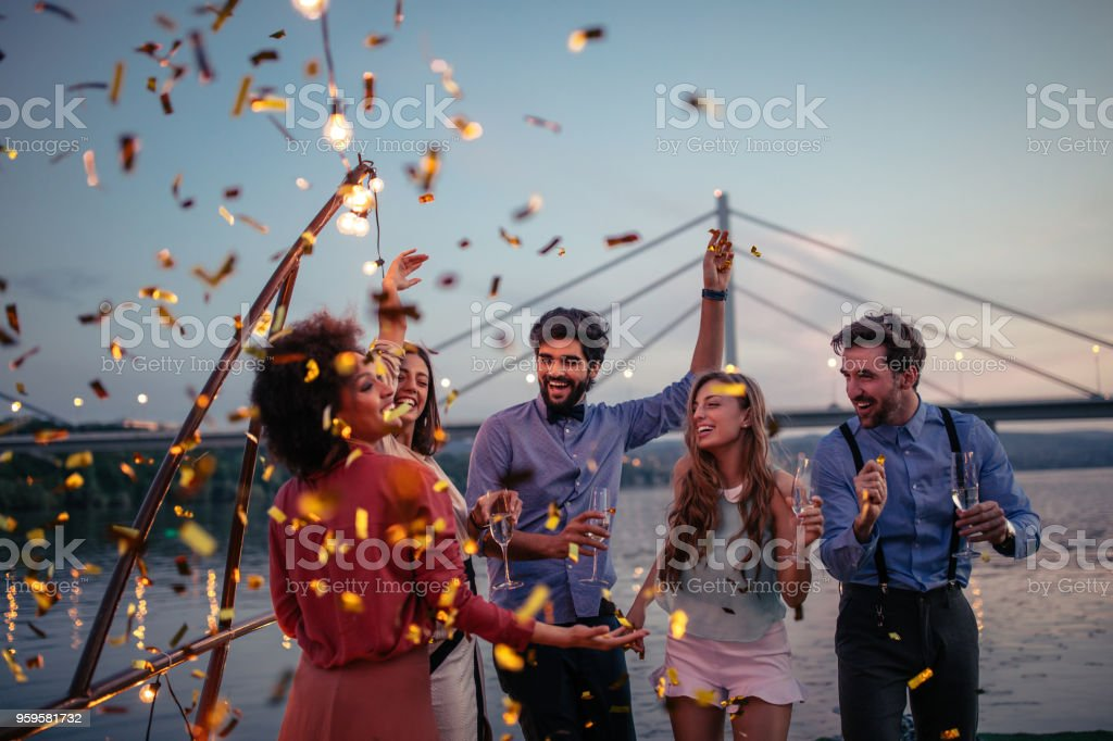 Having a blast ! - fotografia de stock