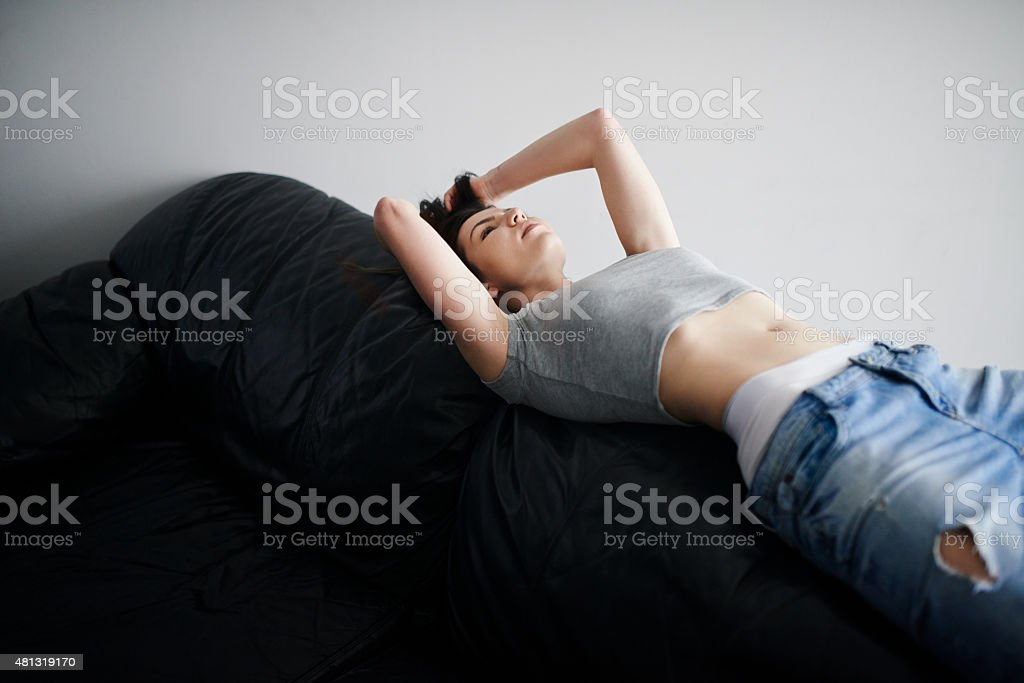Having a chilled day stock photo