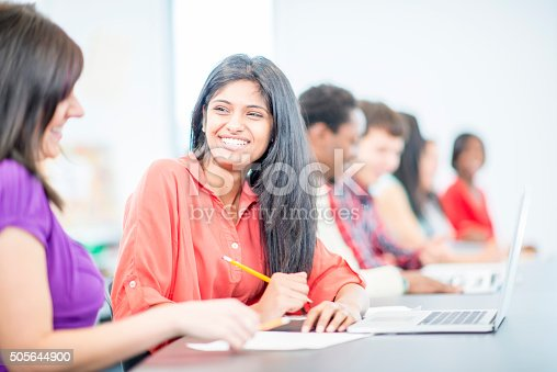 istock Having a Discussion in Class 505644900