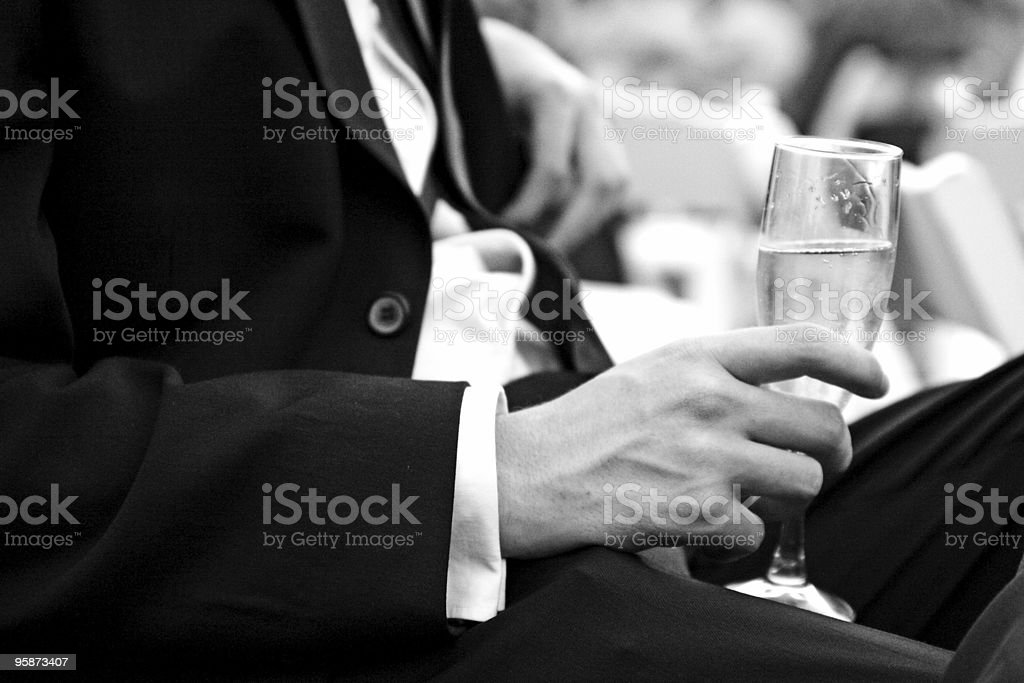 having a drink stock photo