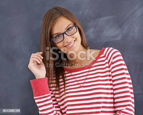 istock Having a great day at college 504368299