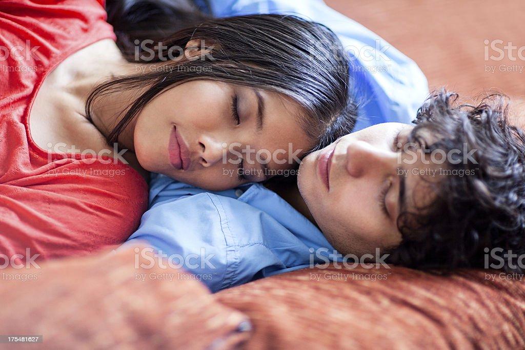Having a Nap stock photo