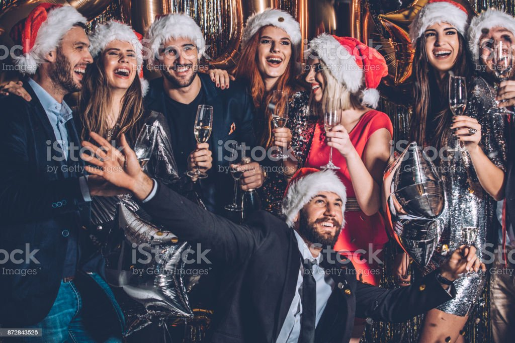 Having an awesome time together stock photo