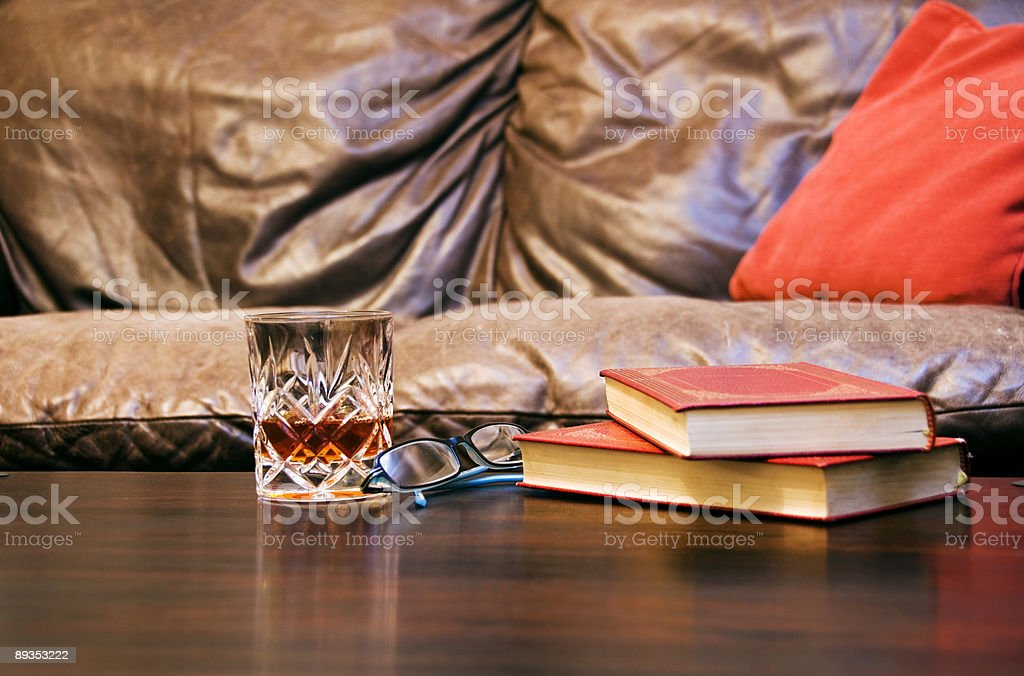 having and evening in royalty-free stock photo