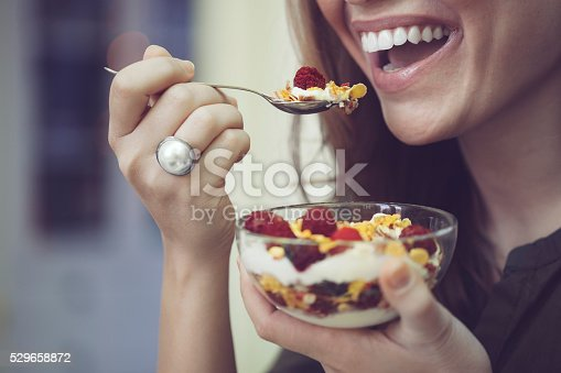 istock Having breakfast 529658872