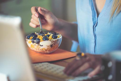 istock Having breakfast 846717688