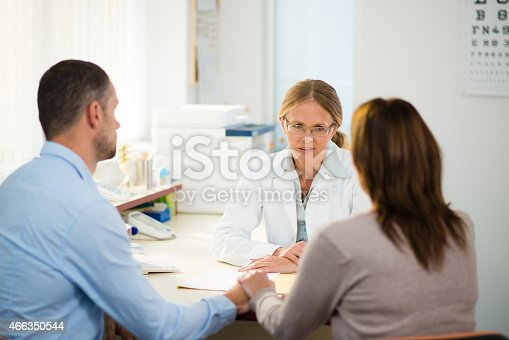 istock Having Consultation With General Practitioner 466350544
